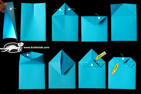 How To Make A Paper Pocket - krokotak advent calendar paper bag houses