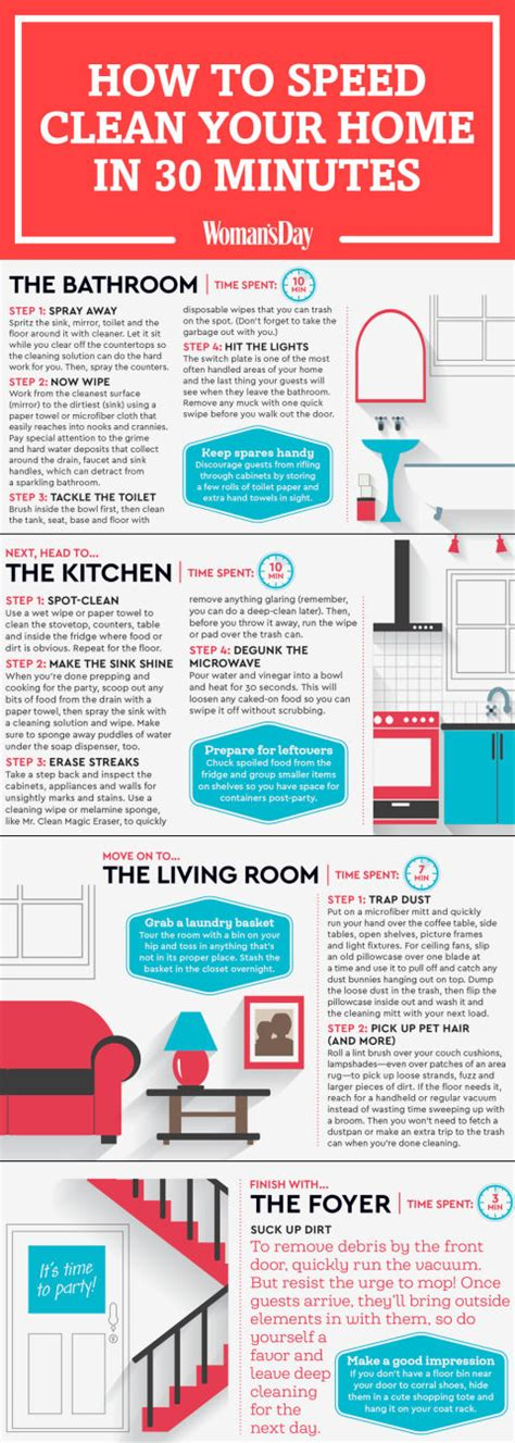 how to clean your home quick cleaning tips how to speed clean your home in 30