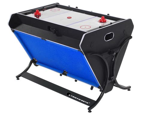 strikeworth trisport multi table pool air hockey