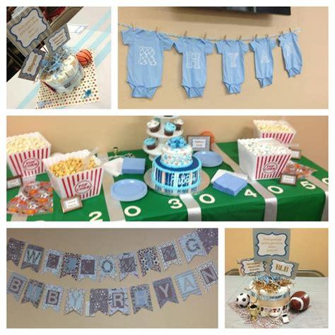 baby themes for boys baby boy sports themed baby shower baby shower