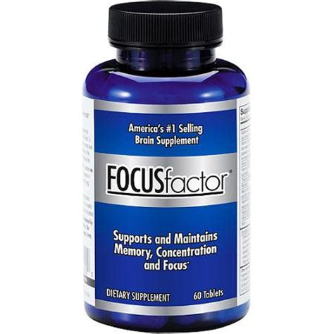 focus x supplement focus factor brain supplement 60ct walmart