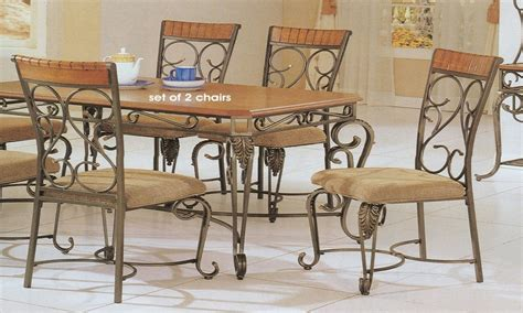 Wrought Iron Dining Room Furniture Iron Table And Chairs Wrought Iron Dining Room Sets Country Dining Room Furniture Dining