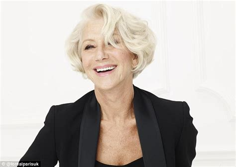 70 year old woman what make up to use helen mirren i don t give a damn about getting older i