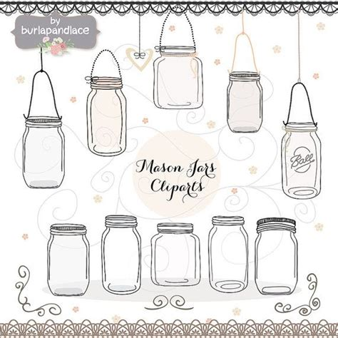 Jar Wedding Clipart by Wedding Jar Clip Www Imgkid The Image