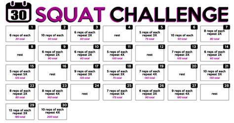 this 30 day squat challenge will get your in shape