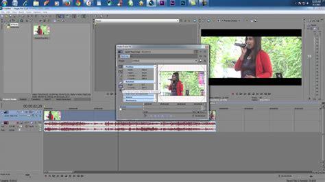 tutorial edit video vegas vegas editing tutorial how to cara membuat frame cinema