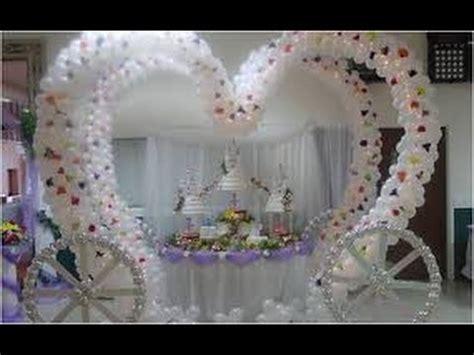 decoracion de iglesia para boda con globos decoracion con globos para bodas youtube