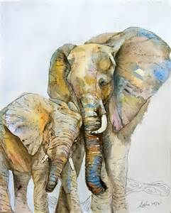 elephant 8x10 original watercolor elephant baby nursery children 20 00 via etsy