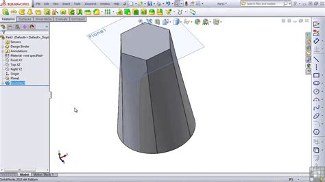 tutorial solidworks loft solidworks 2013 tutorial loft and boundary youtube