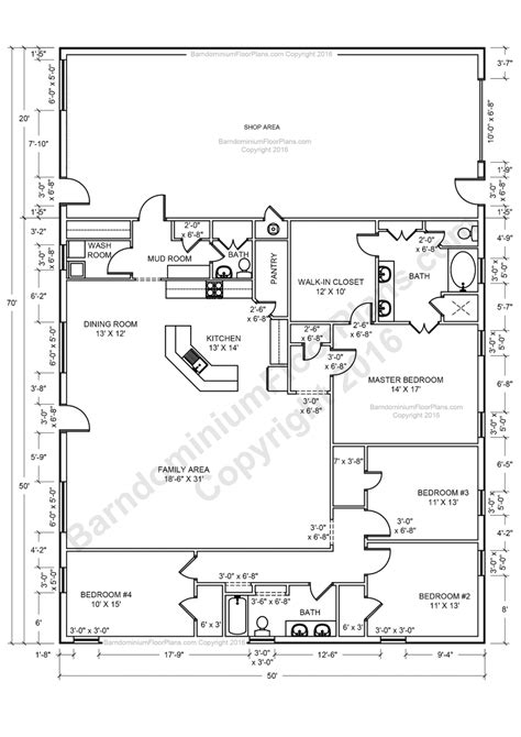 apartments 4 bedroom open house plans one story open