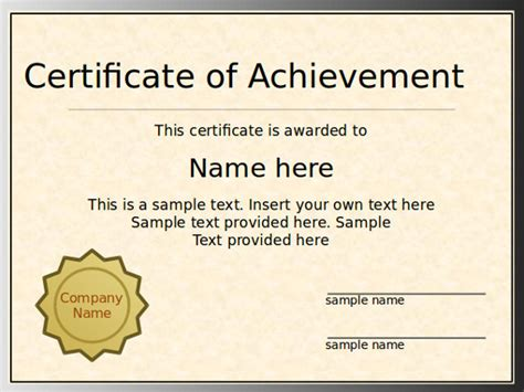 free certificate templates for powerpoint pacq co