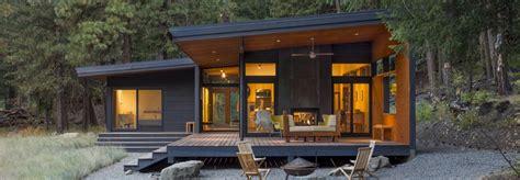 passive solar cabin embraces  dramatic washington