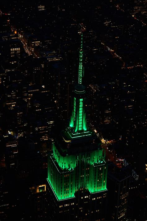 Empire State Building Lights Schedule by Tower Lights Empire State Building
