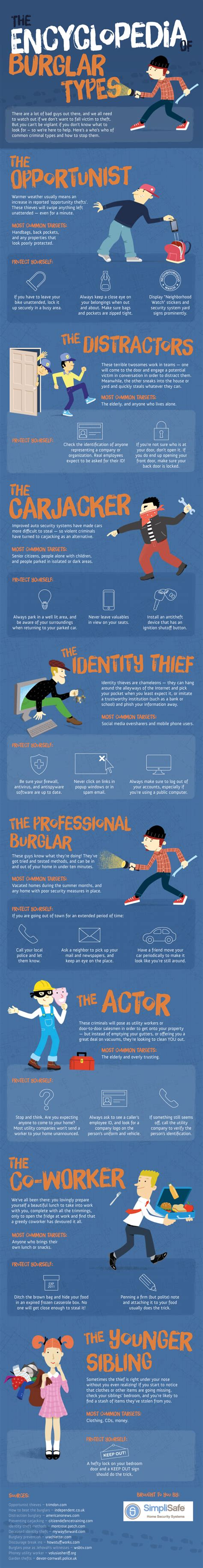 the encyclopedia of burglar types preparednessmama