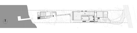 steep site house plans gallery of courtyard house on a steep site hutchison
