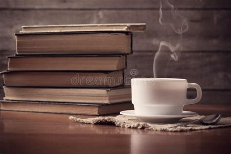 wallpaper coffee and books old books with cup of coffee stock photo image of