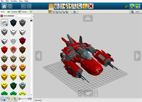 Lego Digital Designer Models