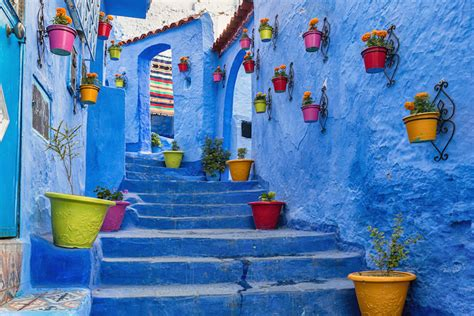morocco blue city inside chefchaouen morocco s stunning blue city with