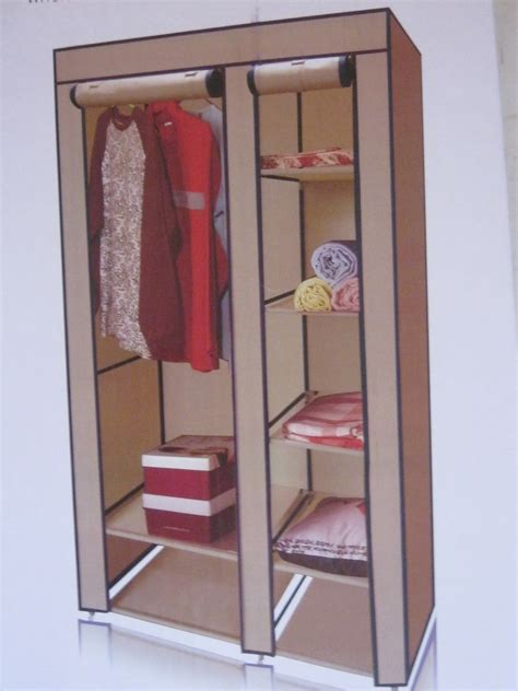 closet y guardarropa cl 243 set guardarropa armable de tela con base met 225 lica