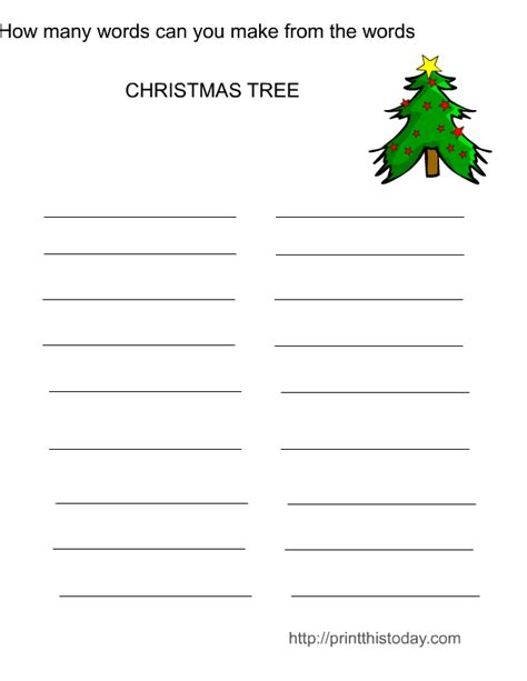 christmas games printable for adults free printable