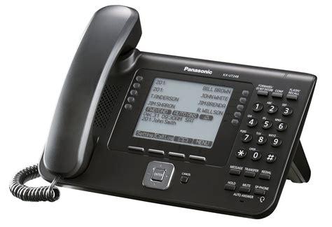 Telpon Telepon Telephone Wireless Panasonic Kx Tg3611 C Murah panasonic kx ut248 sip executive desk phone with large