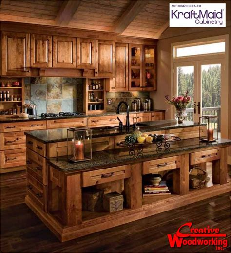 Rustic Country Kitchen Cabinets by Kitchen Remodeling Rustic Kitchen Cabinets