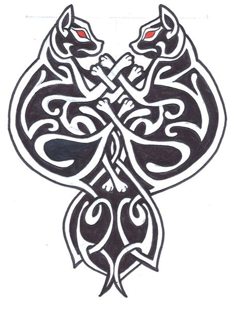 celtic cat tattoo designs celtic cats by madmoisellemeli on deviantart