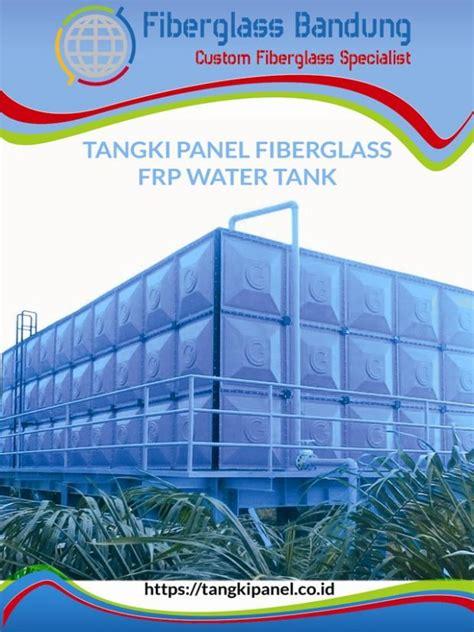 katalog tangki panel fiberglass frp water tank