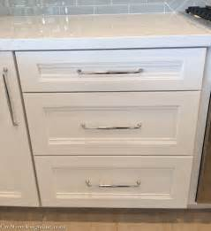Kitchen Cabinets Handles by Kitchen Remodel Using Lowes Cabinets Cre8tive Designs Inc