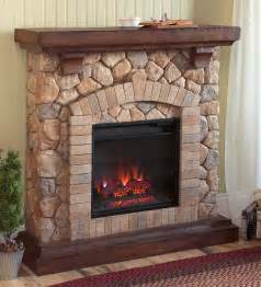 40 quot tequesta wood brown electric fireplace