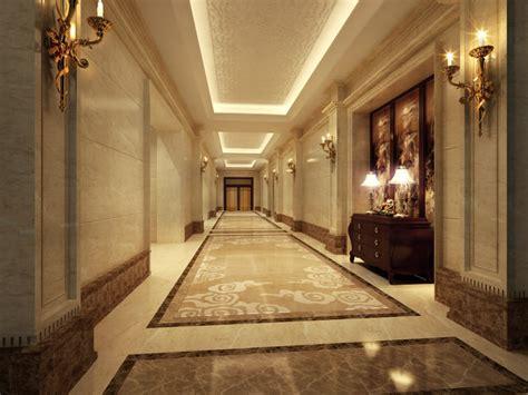model bright corridor cgtrader