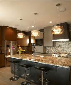 Lighting For Kitchen by Modern Lighting Ideas For Kitchens 2014