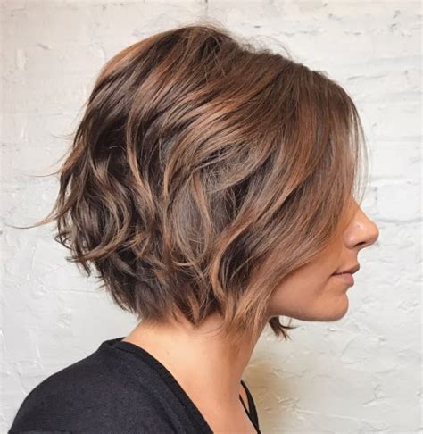 caramel brown bobs for round faces 70 cute and easy to style short layered hairstyles