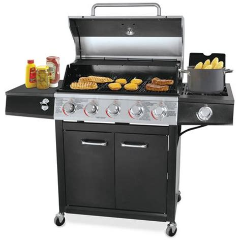 Backyard Bbq Fresno Ca Backyard Grill Fresno 5 Burner Lp Gas Grill Walmart Ca