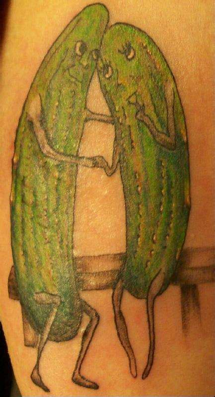 pickle tattoo pickles