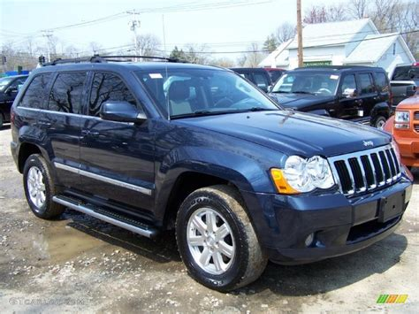 light blue jeep grand cherokee 2008 modern blue pearl jeep grand cherokee limited 4x4