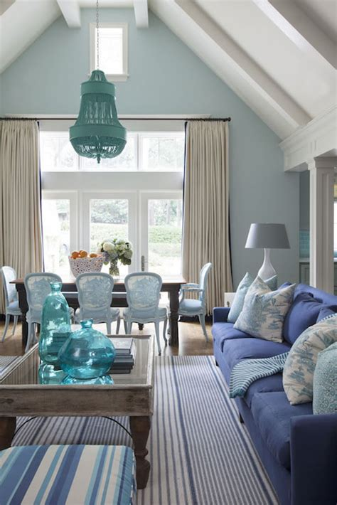 turquoise blue living room cottage living room decor blue cottage living room cottage living room sherwin