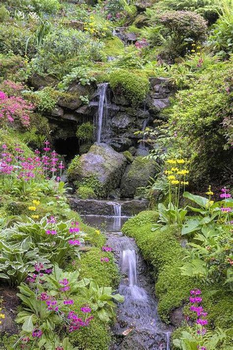 Garden Wales Bodnant Garden Snowdonia Wales Beautiful Places