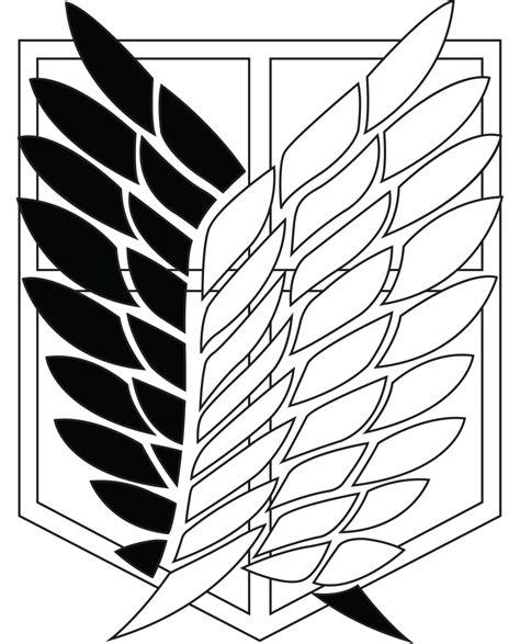 Survey Corps Anime survey corps logo stencils