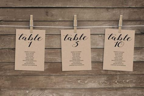 Wedding Table Seating Cards Template by Wedding Seating Chart Template Wedding Seating Chart