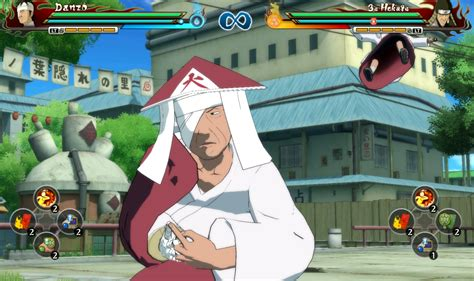 mod game naruto revolution danzo hokage by zen at naruto ultimate ninja storm