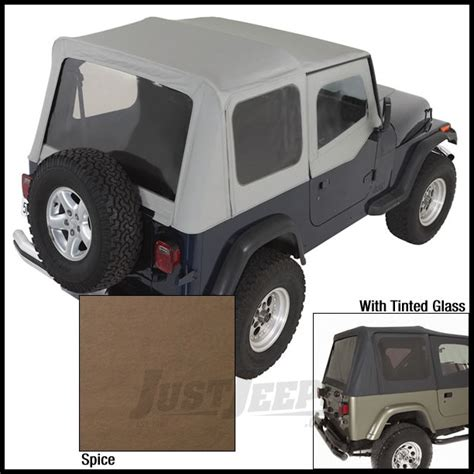95 Jeep Wrangler Soft Top Jeep Parts Buy Rugged Ridge Replacement Soft Top Skin
