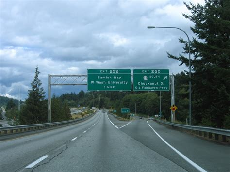 Interstate 5 North - Whatcom County - AARoads - Washington I 5 Exit 71 In Washington State