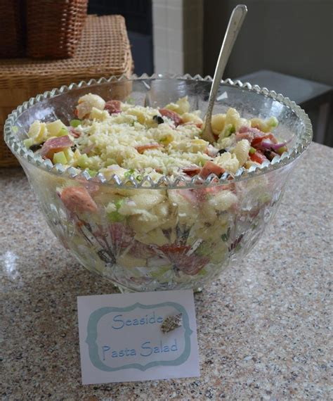 Baby Shower Pasta Salad by Sea Shell Pasta Salad Baby Shower Sea