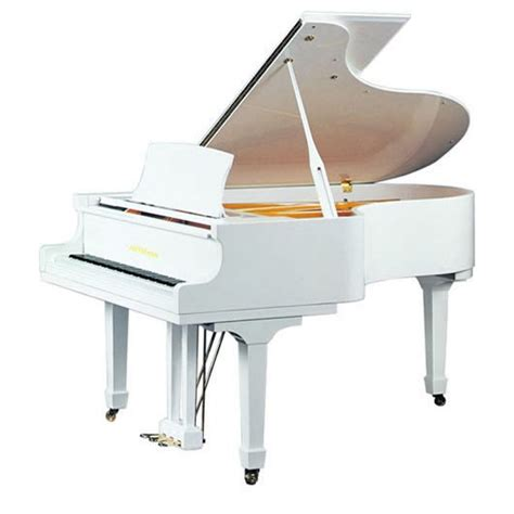 white piano bench canada 155c 5 1 quot grand piano in luxurious polished white with