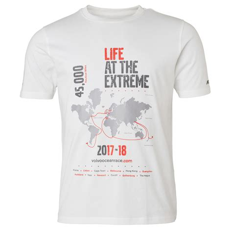 volvo car lifestyle collection shop map tee mens