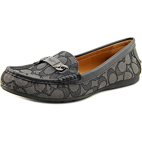 coach black loafers coach loafer flats loafer coach flats