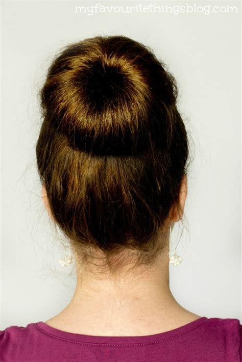 easy sock bun for medium hair 17 beste afbeeldingen haar make up op