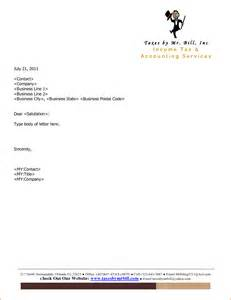 7 company letterhead samples bookletemplate org