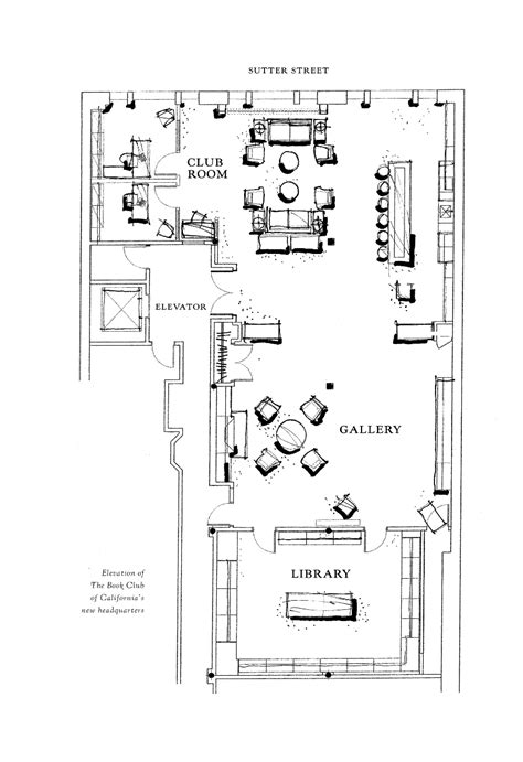 floor plan book about room rental the book club of california